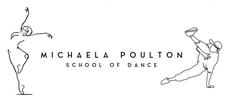 Michaela Poulton School of Dance Logo